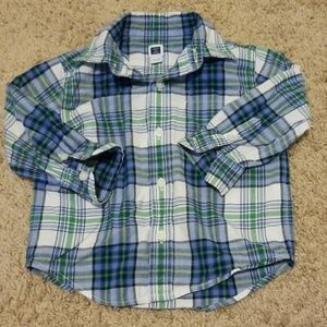 Other - Boys Janie and Jack button down shirt 12-18 months